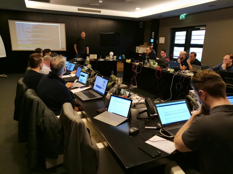 2e cursusdag van onze 3CX praktijktraining KeenSystems